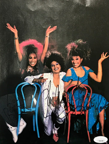 Pointer Sisters Autographed 8x10 Photo (JSA)