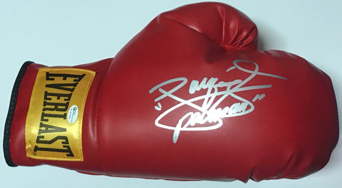 Manny Pacquiao Autographed Red Everlast Right Boxing Glove (Online Authentics)