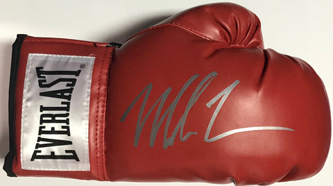 Mike Tyson Autographed Red Everlast Right Boxing Glove (JSA)