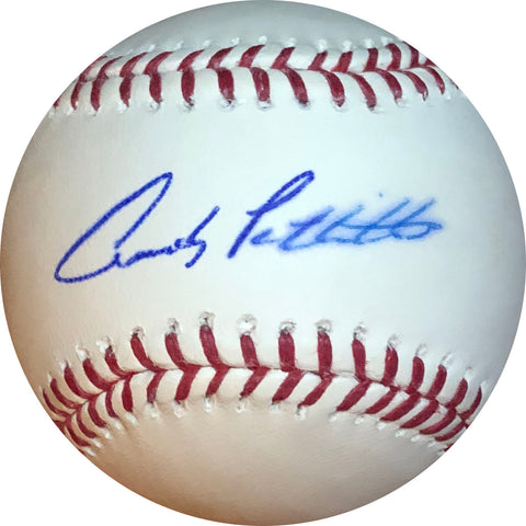 Andy Pettitte Autographed Baseball (Tristar)