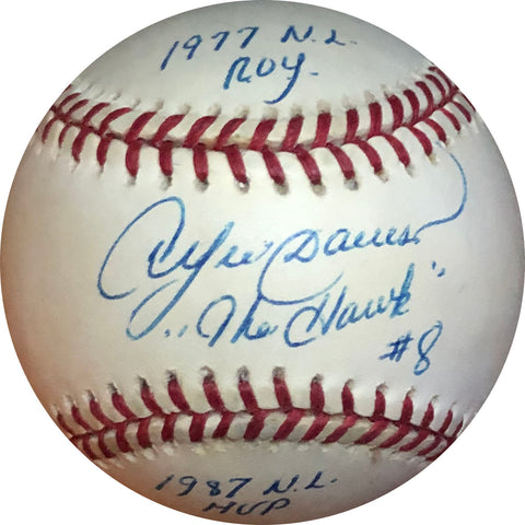 Andre Dawson Autographed Multi Inscribed Baseball