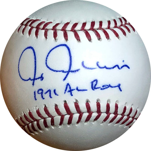 "Chris Chambliss ""1971 AL ROY"" Autographed Baseball"