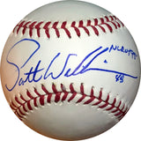 "Scott Williamson ""NL ROY 99"" Autographed Baseball"