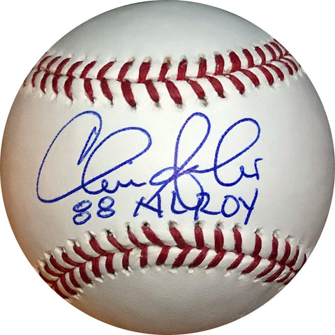 "Chris Sabo ""88 AL ROY"" Autographed Baseball"