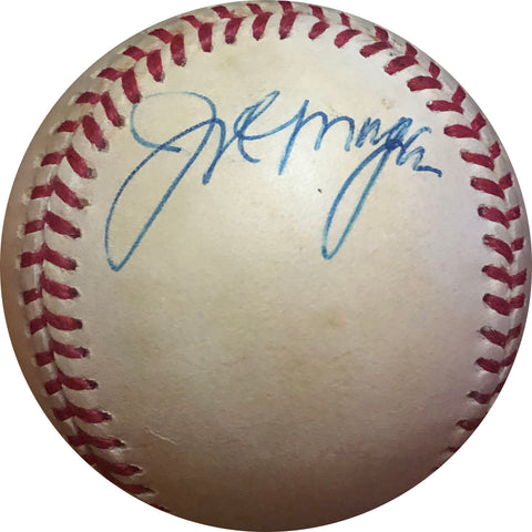 Joe Morgan Autographed Baseball