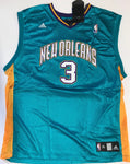 Chris Paul Autographed Teal New Orleans Hornets Replica Jersey