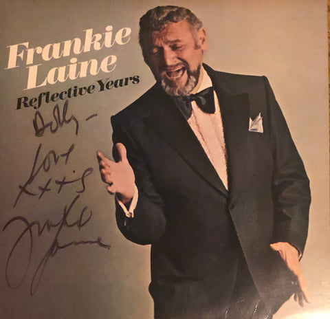 "Frankie Laine Autographed ""Reflective Years"" Vinyl Record (JSA)"