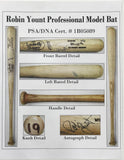 Robin Yount Autographed Game Used Louisville Slugger Bat (PSA)
