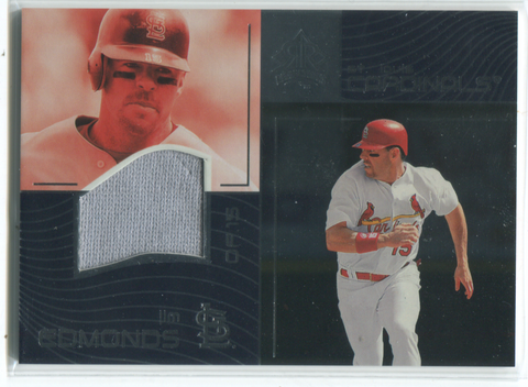 2004 Upper Deck Reflections #155 Jim Edmonds