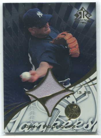 2004 Upper Deck SP Reflections #209 Alex Rodriguez Jersey Card