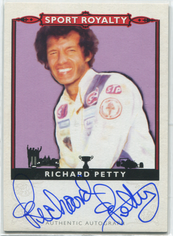 2013 Upper Deck Sport Royalty #SRA-RP Richard Petty Autographed Card
