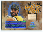 2005 Donruss Gallery Of Stars #GS-9 Dave Parker Autographed Card 109/200