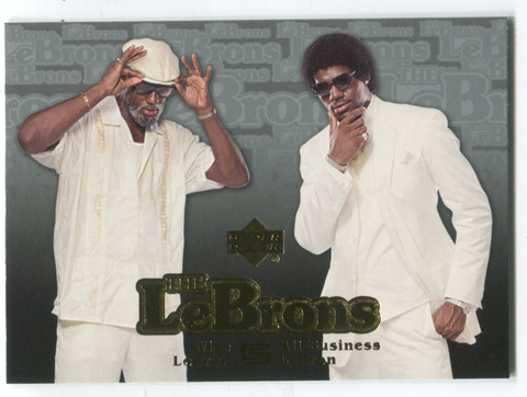 2006-07 Upper Deck The Lebrons ##LBJ-14 Lebron James Wise/Business