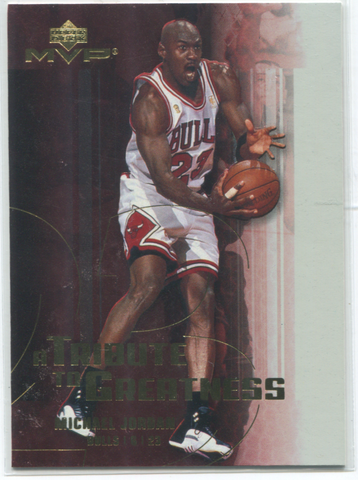 Upper Deck MVP #MJ3 Michael Jordan Card