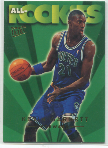 1996 Fleer Ultra All Rooks #3 Kevin Garnett Card