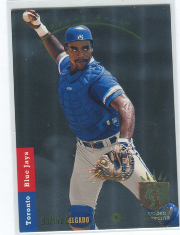 1993 Upper Deck SP #275 Carlos Delgado Card
