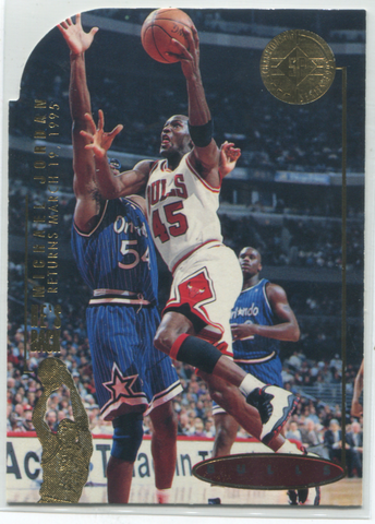 1995 Upper Deck SP Championship Series #41 Michael Jordan Card