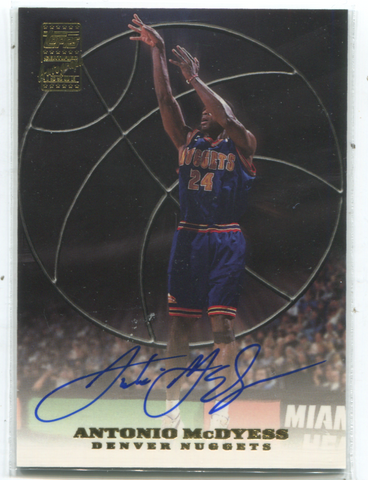 2000 Topps Certified Autograph Issue #AM2 Antonio McDyess