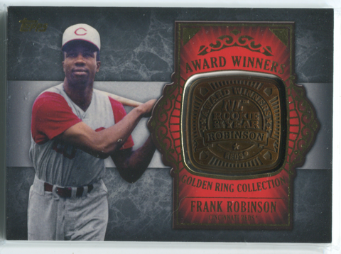 2012 Topps Golden Ring Collection #GAR-FR Frank Robinson