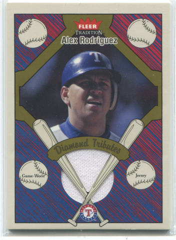 2004 Fleer Tradition #DT-AR Alex Rodriguez Card