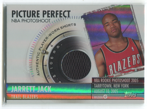 2005 Topps Picture Perfect 024/129 #PPRS-JJ Jarrett Jack Card