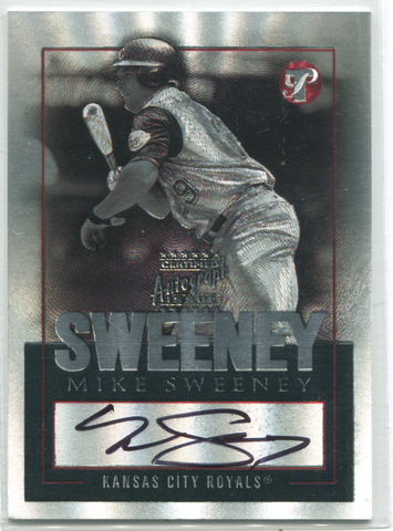 2003 Topps Certified Autograph Issue #TPA-MS Mike Sweeney