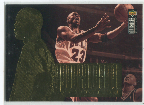 1995 Upper Deck Collectors Choice #JC12 Michael Jordan Card