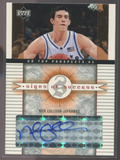2003 Upper Deck Signs Of Success #SS-NC Nick Collison Autographed Card