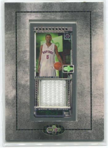 2004 Topps Mystery M3 Game Worn Jersey Jalen Rose Card