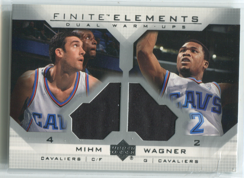 2003 Upper Deck Finite Elements Dual Warm-Ups #FE24 Chris Mihm & Dejuan Wagner