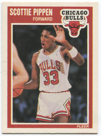 1989 Fleer #23 Scottie Pippen Card
