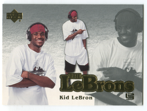 "2006-07 Upper Deck The Lebrons #LBJ-4 Lebron James ""Kid Lebron"" Card"