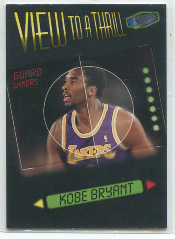 1998 Fleer Ultra View To A Thrill #3 Kobe Bryant Card