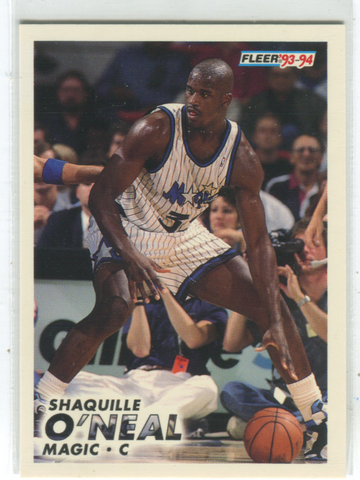 1993-94 Fleer #149 Shaquille O'Neal card
