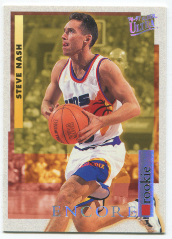1996-97 Fleer Ultra #273 Steve Nash Rookie Card