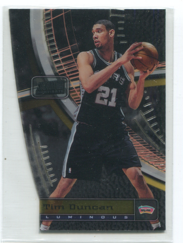 1998 Stadium Club Triumvirate #T6C Tim Duncan