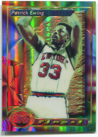 1994 Topps Finest #165 Patrick Ewing Card