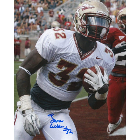 James Wilder Jr Autographed Florida State Seminoles 8x10 Photo