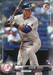 Aaron Judge Unsigned 2017 Bowman Rookie Card