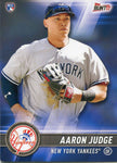 Aaron Judge Unsigned 2017 Topps Bunt Rookie Card