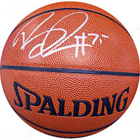 Brandon Rush Autographed / Signed Indoor/Outdoor Basketball- Indian Pacers