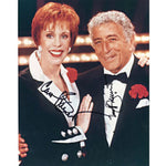 Carol Burnett & Tony Bennett Autographed / Signed 8x10 Photo