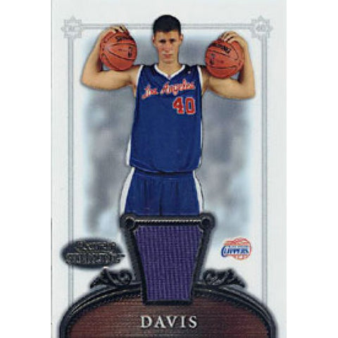 Paul Davis 2007 Topps Bowman Sterling Game-Worn Jersey Rookie Card