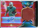 Jarvis Landry Autographed 2014 Topps Platinum Rookie Football Patch Card