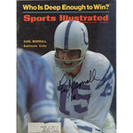Earl Morrall Autographed / Signed November 25 1968 Sports Illustrated Magazine