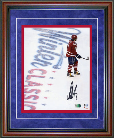 Alexander Ovechkin Autographed Framed 8x10 Photo