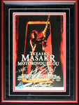 Andrew Bryniarski Autographed Framed Multi Inscribed Texas Chainsaw Massacre Russian Movie Poster
