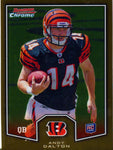 Andy Dalton Unsigned 2011Topps Rookie Card