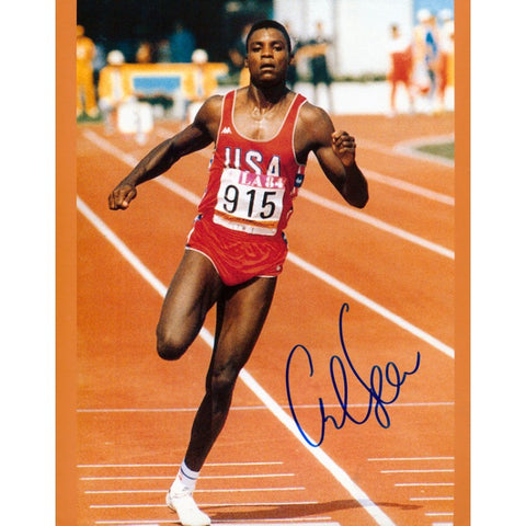 Carl Lewis Autographed / Signed 8x10 Photo