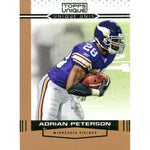 Adrian Peterson Unsigned 2009 Topps Unique Card